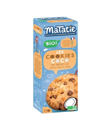 Les cookies coco aux pépites de chocolat bio !