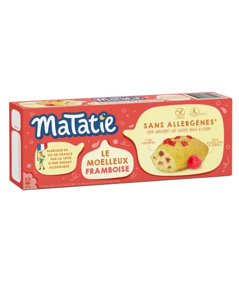 Délicieuses madeleines aux pépites de framboises, parfaites pour le goûter et 100% sans risque !
