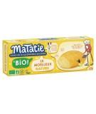 La madeleine nature pour un goûter rapide avec un emballage conçu pour être un goûter transportable.