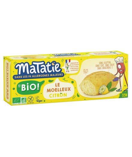 Les moelleux Citron BIO !