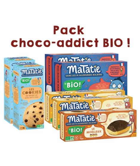Le Pack choco-addict BIO !